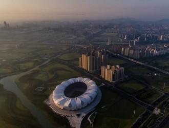 """【聚焦G20】""""天空之眼""""看杭州(组图)"""